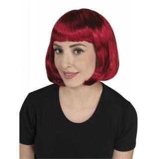 Περούκα Σεσίλια κόκκινη 25cm