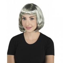 Περούκα Σεσίλια γκρι 25cm
