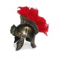 Καπέλο Περικεφαλαία Ρωμαίου Πολεμιστή με λοφίο