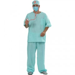 Γιατρός με μάσκα στολή ενηλίκων
