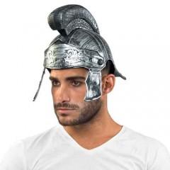 Καπέλο Περικεφαλαία Ρωμαίου Πολεμιστή ασημένια