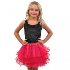 Φούστα με μύτες παιδική δίχρωμη σε τρία χρώματα 1f8533bf8fc