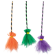 Σκούπα μάγισσας με τούλι σε τρία χρώματα