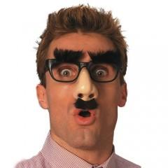 Γυαλιά Αστεία με Μύτη φρύδια και μουστάκι