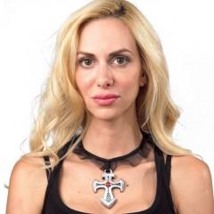 Κολιέ Σταυρός Gothic σε δύο σχέδια