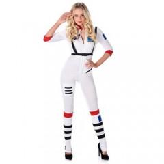 Αστροναύτης Γυναίκα στολή ενηλίκων