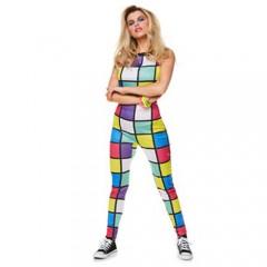 Disco 80s φόρμα στολή για ενήλικες