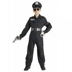 Αστυνομικός με σακάκι στολή για αγόρια