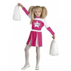 Pink Cheer στολή ροζ μαζορέτας για κορίτσια