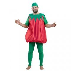 Ντομάτα ολόσωμη στολή μασκότ για ενήλικες