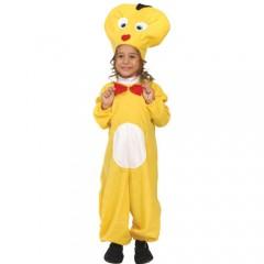 Καναρίνι στολή για μικρά παιδιά
