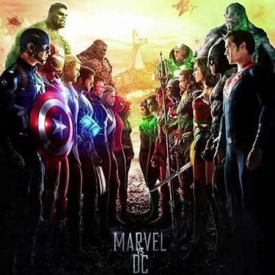 Marvel VS Dc αυθεντικές στολές