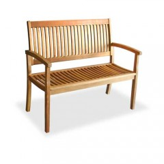 Espanyol καναπές διθέσιος από ξύλο ακακίας