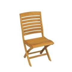Teak πτυσσόμενη Καρέκλα κήπου