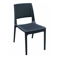 Verona Καρέκλα σε τρία χρώματα πολυπροπυλενίου με φινίρισμα wicker