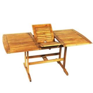Επεκτεινόμενο 180~240x90cm Τραπέζι Κήπου σε ξύλο ακακίας.