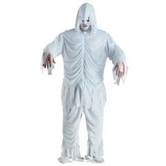 Μούμια λευκή ολόσωμη στολή για ενήλικες