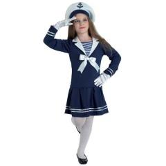 Ναυτάκι αποκριάτικη στολή για κορίτσια