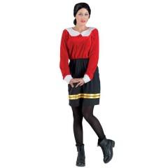 Όλιβ γυναικεία στολή ενηλίκων το κορίτσι του διάσημου ναυτικού
