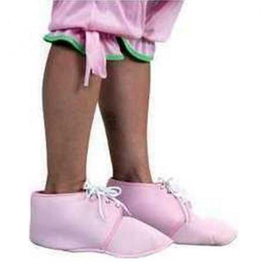 Παπούτσια Μωρού υφασμάτινα ροζ Επικαλυπτικά