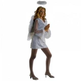 Στολή Άγγελος του παραδείσου με φωτοστέφανο
