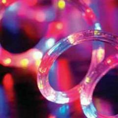 Φωτοσωλήνας 18m πολύχρωμος με 8 προγράμματα ροής του φωτός
