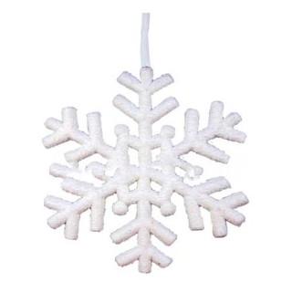 Νιφάδα χιονιού 29cm χριστουγεννιάτικη κρεμαστή διακοσμητική