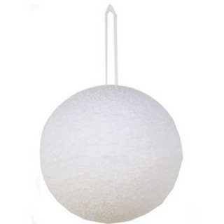 Χιονόμπαλα 25cm διακοσμητική κρεμαστή χριστουγεννιάτικη