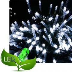 300 Λαμπάκια Led 8 Προγράμματα Πράσινο καλώδιο Λευκό λαμπάκι