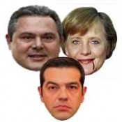 Μάσκες Πολιτικών και Επωνύμων αποκριάτικες