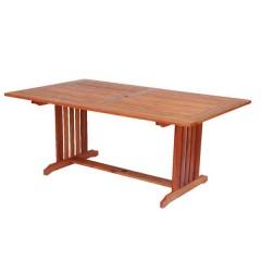 Cornis παραλληλόγραμμο 165x100cm  ξύλινο σταθερό τραπέζι