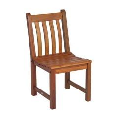 Cornis Ξύλινη Σταθερή καρέκλα κήπου βεράντας