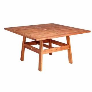 Cornis τετράγωνο 135x135cm ξύλινο τραπέζι