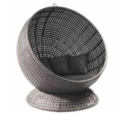 Monte Carlo Κρεμαστή πολυθρόνα wicker με βάση