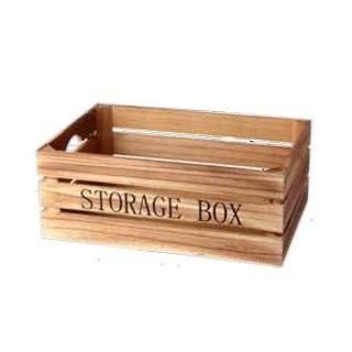 Καφάσι ξύλινο διακοσμητικό storage box 36x25x13