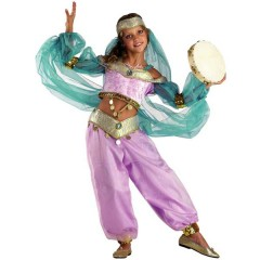 Βασίλισσα Της Ανατολής η εντυπωσιακή Γιασμίν στολή για κορίτσια