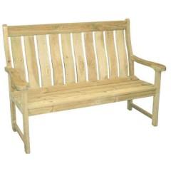 Farmer πληθωρικός καναπές κήπου από ξύλο πεύκου
