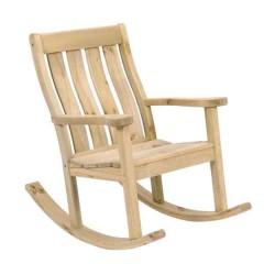 Farmer Κουνιστή πολυθρόνα κήπου από ξύλο πεύκο