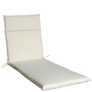 Μαξιλάρι ξαπλώστρας Πισίνας Eco line εκρού