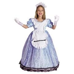 Αλίκη in Wonderland μακρύ φόρεμα στολή για κορίτσια