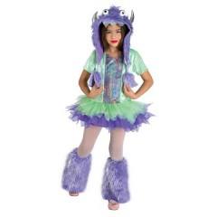 Funky Monster στολή για κορίτσια το χαρούμενο Τερατάκι fluffy Furby