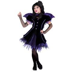 Gothic Bat στολή Νυχτερίδας για κορίτσια με γκότθικ εμφάνιση