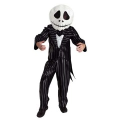 Jack στολή για αγόρια Τζακ Ο Σκελετός βασιλιάς της χώρας του Halloween