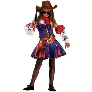 Texas Girl  στολή καουμπόη για κορίτσια  θρύλους στο μακρινό Φάρ Ουέστ