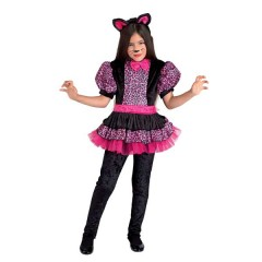 Γλυκιά Τιγρούλα ροζ με φούστα στολή για κορίτσια