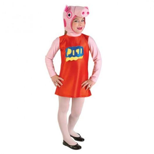 Γουρουνάκι στολή για κορίτσια