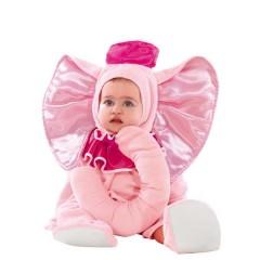 Ελεφαντάκι ροζ στολή για μωράκια