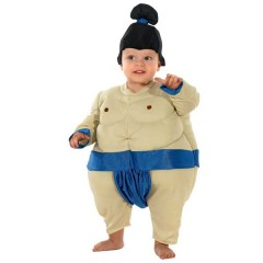 Σούμο στολή παλαιστή του sumo ο χοντρός παλαιστής για μωράκια