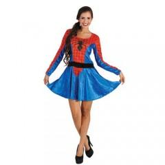 Spiderwoman γυναικεία Στολή ενηλίκων Αράχνη
