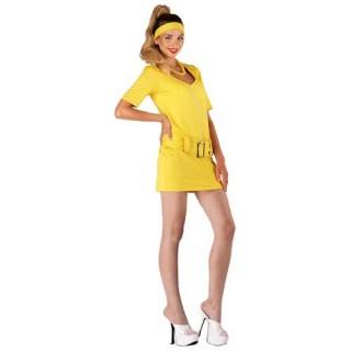Go Go Girl φόρεμα 70's γυναικεία στολή ενηλίκων